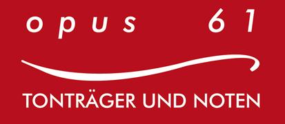 Das Logo von Opus 61 aus Dresden