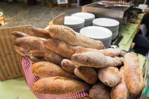 Baguettes beim Speisestand vom Eivissa Café Bistro Bar Dresden Nuestadt